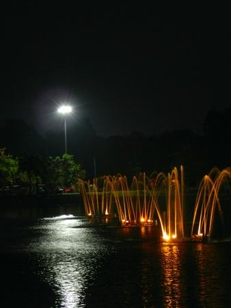 Fountain at night Stock Photo - 13250623