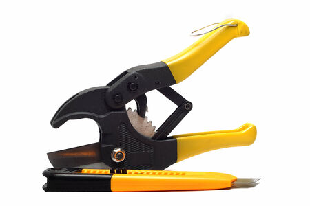 clerical: large pliers for pipes and clerical than white