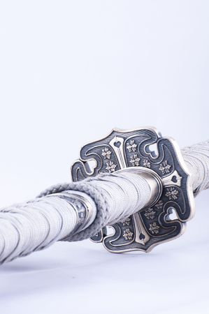 Picture of a samurai´s sword with nice details. Stock Photo - 4657778