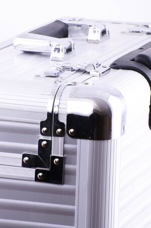 Picture of an aluminum case with details. Stock Photo - 4657702