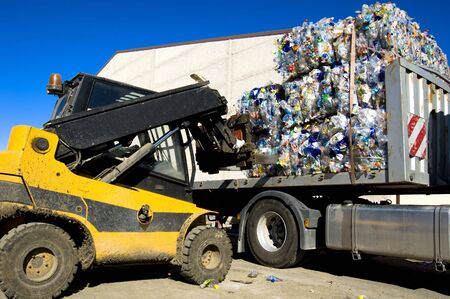 Picture of a recycle plant  from spain Stock Photo