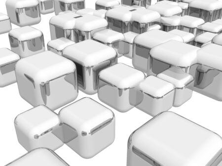 shinny: Shinny cubes� illustration