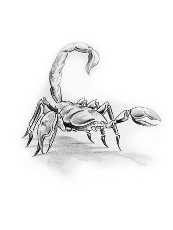 Hand made illustration over white background. Stock Illustration - 4936683