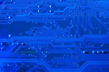 effets lumiere: image de circuit avec des d�tails et des effets de lumi�re.  Banque d'images