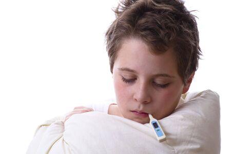 sniffles: Fever and flu