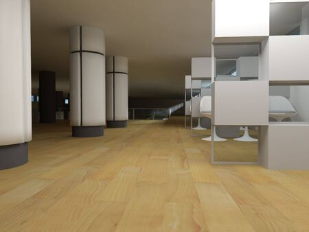 Hospital waiting room, conceptual architecture, clean\ space.
