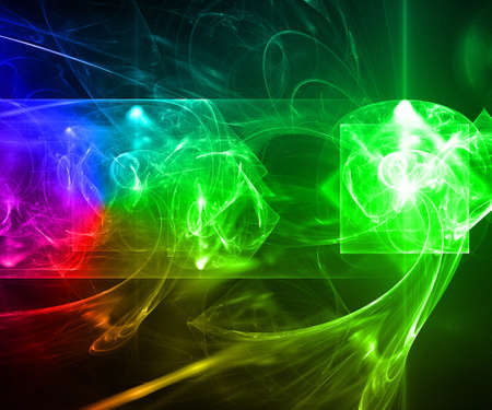 Laser light background. photo