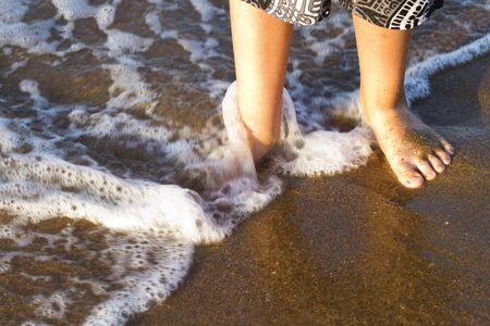 financial cliff: Gorgeous spanish Beach in Summertime