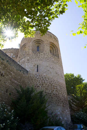 Piedra Bermeja Castle, In S. XII became fortified palace of feudal lords more like that of warriors. photo