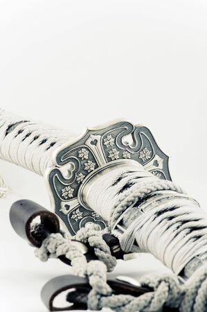 Samurai sword on a white background Stock Photo - 7816570