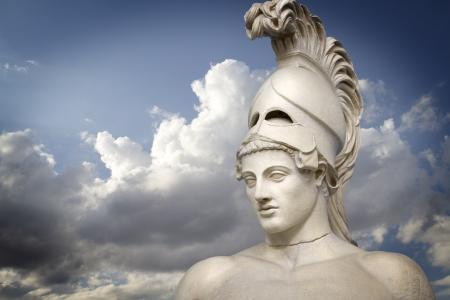 Grecka rzeźba ogólnych Peryklesa grecki sztuka Zdjęcie Seryjne - 10089617