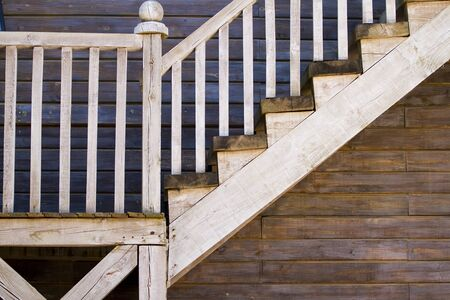 old stairs, western texture photo