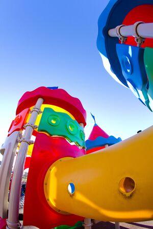Amusement park, castle toy photo