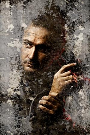 pistola: Retrato del g�ngster m�s sucia pared