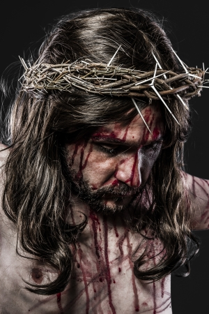 jesuschrist: representation of the Passion of Jesus Christ
