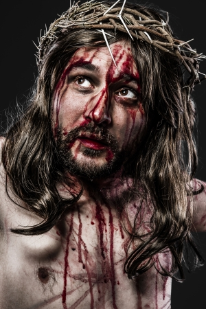 representation of the Passion of Jesus Christ photo