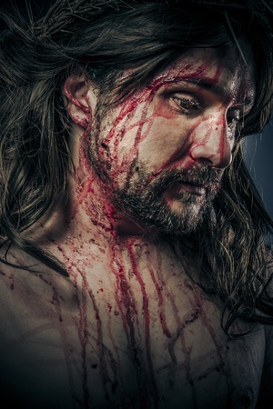 martyrdom: Christianity, viacrucis concept, religion picture