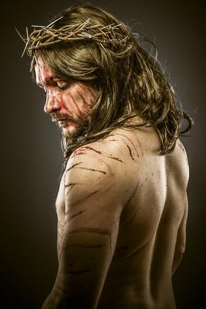viacrucis: Jesus, viacrucis concept, religion picture