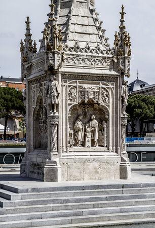 cristobal colon: Cristobal colon, Image of the city of Madrid, its characteristic architecture