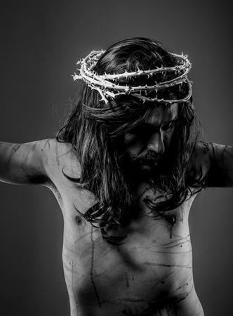 representation of Jesus Christ on the cross photo