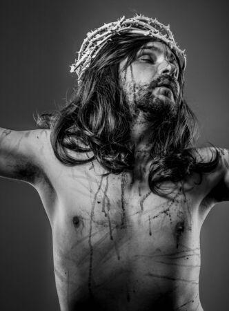 Sacred, representation of Jesus Christ on the cross photo