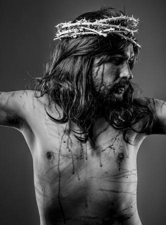 Faith, representation of Jesus Christ on the crossFaith, representation of Jesus Christ on the cross photo