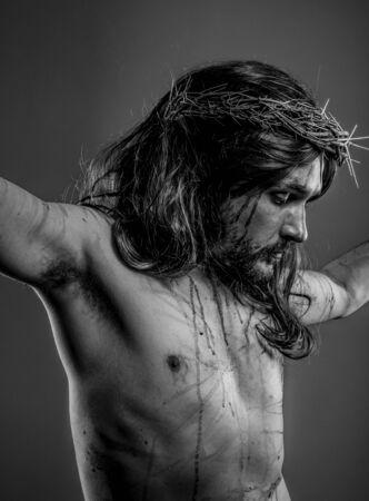 Religion, representation of Jesus Christ on the cross photo