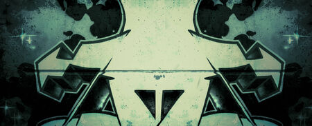 deface: Arrow.Ecology background over old dirty wall, urban hip hop background Gray texture painted with bright colorful