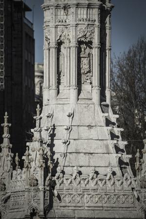 cristobal colon: Monument Colon. Statue. Christopher Columbus (Cristobal Colon in Spanish)