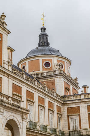 Tourism..Royal Palace of Aranjuez, Madrid, Spain photo