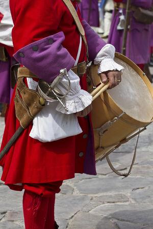 regiment: Succession  War September 4, 2010 in Brihuega, Spain Editorial