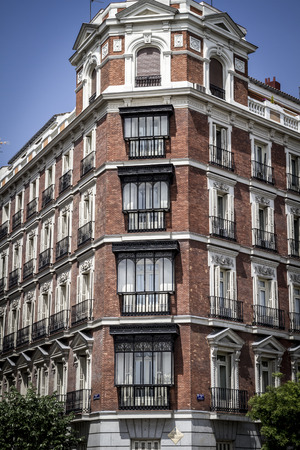 Gran via, Image of the city of Madrid, its characteristic architecture
