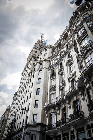 gran via: Gran Via, Image of the city of Madrid, its characteristic architecture
