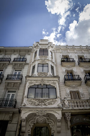 Bank, Image of the city of Madrid, its characteristic architecture