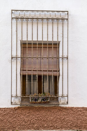 architecture details from spain. aged materials and texture photo