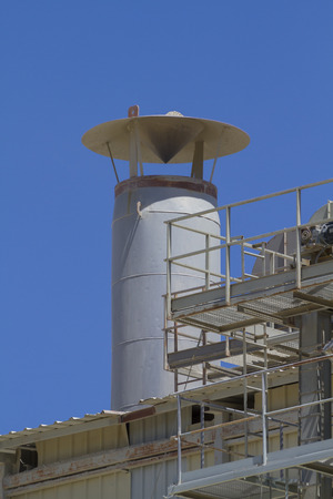 tube and industrial chimneys in area construction companies photo