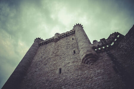 Fortress, Medieval castle, spain architecture