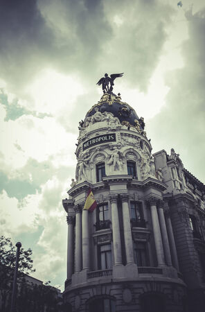 metropolis image: Metropolis, Image of the city of Madrid, its characteristic architecture