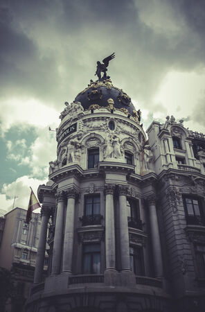 Metropolis, Image of the city of Madrid, its characteristic architecture photo