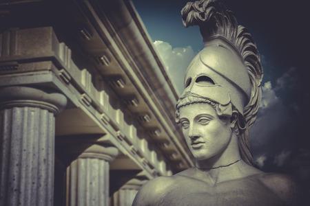 Bust of the greek statesman Pericles, classical sculpture Standard-Bild