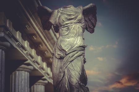 Victory of Samotracia, greek sculpture photo