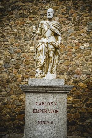 Carlos V sculpture, Tourism, Toledo, most famous city in spain