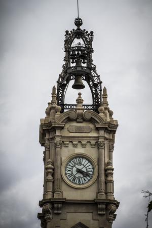 clock tower, Spanish city of Valencia, Mediterranean architecture photo