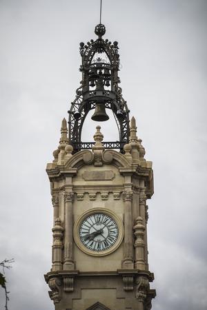 clock tower in Spanish city of Valencia photo