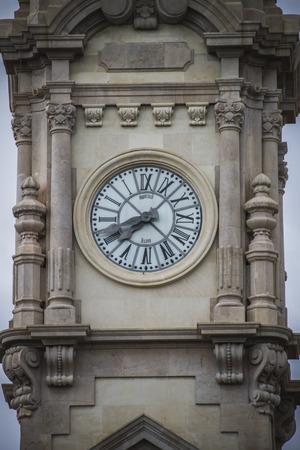 clock tower, Spanish city of Valencia, Mediterranean architecture