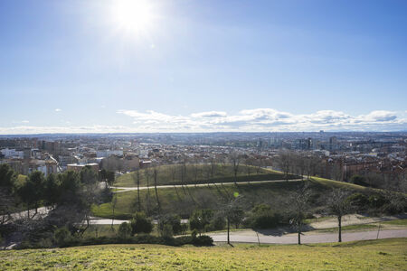 pio: Madrid skyline, views from Tio Pio Park
