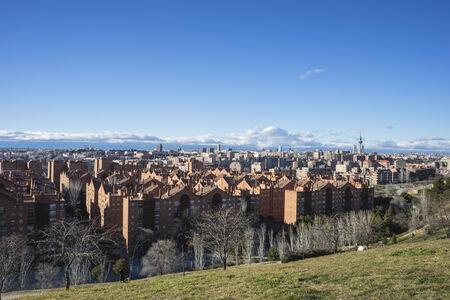 pio: European architecture, Madrid skyline, views from Tio Pio Park