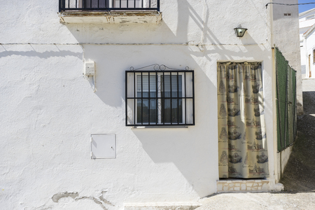 spanish houses: houses and typical Spanish architecture, white buildings, Mediterranean style