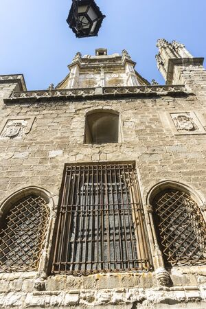 toledo: amazing and beautiful cathedral in Toledo, Spain