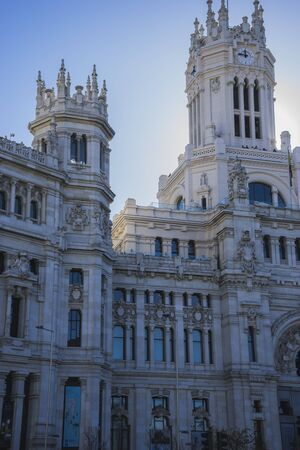 oficina antigua: Town Hall of Madrid, Spain, former post office